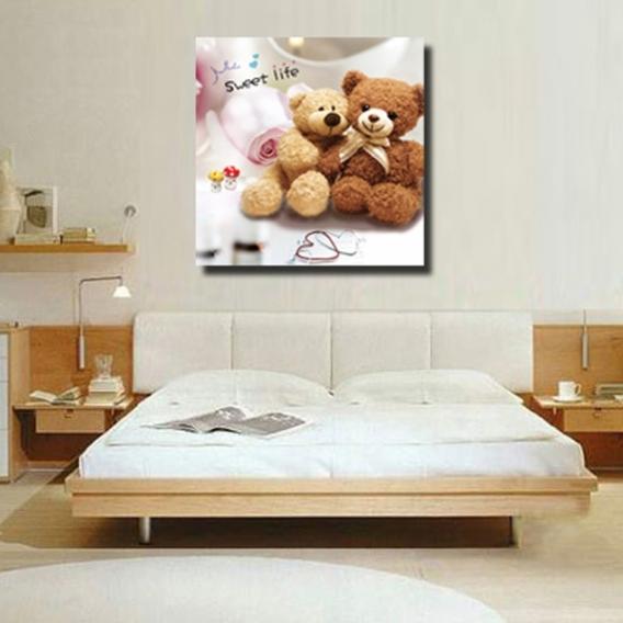 Teddy Bears Art Print for Kids