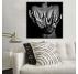 Woman hands Abstract print art