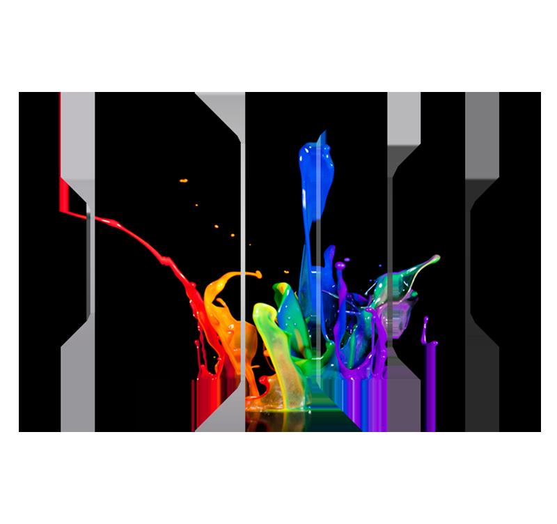 tableau abstrait color splash prcdent - Tableaux Abstraits Colors