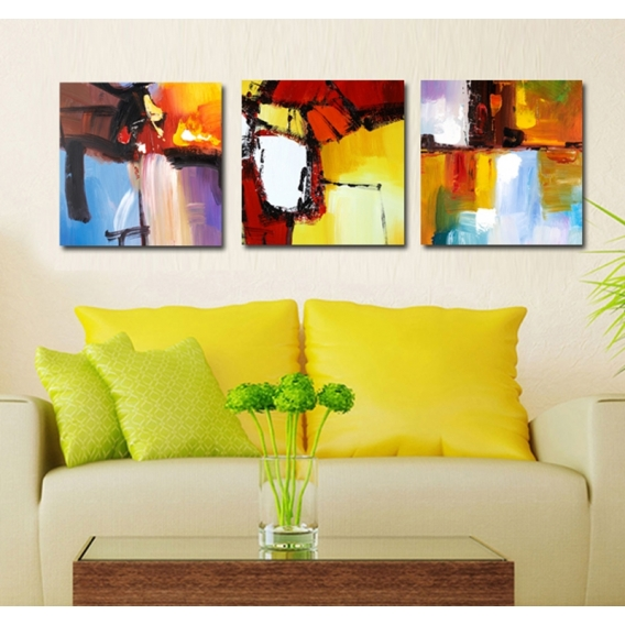 Landscapes Colors Abstract Art Print