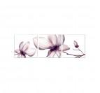 Triptyque Nature Fleurs Roses