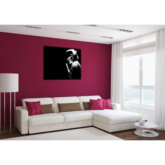 Michael Jackson people art print