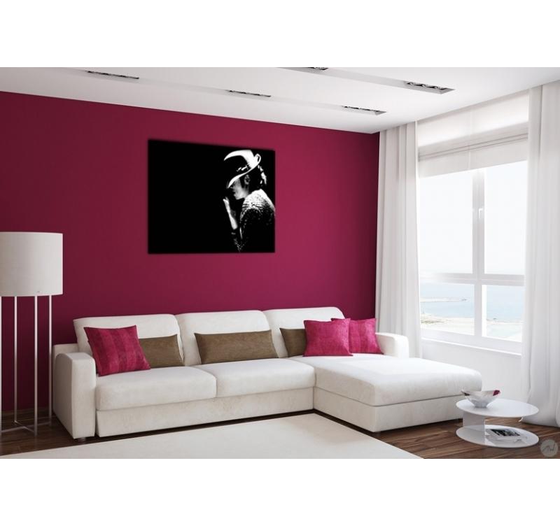Michael jackson people art print artwall and co for Como combinar colores de pintura