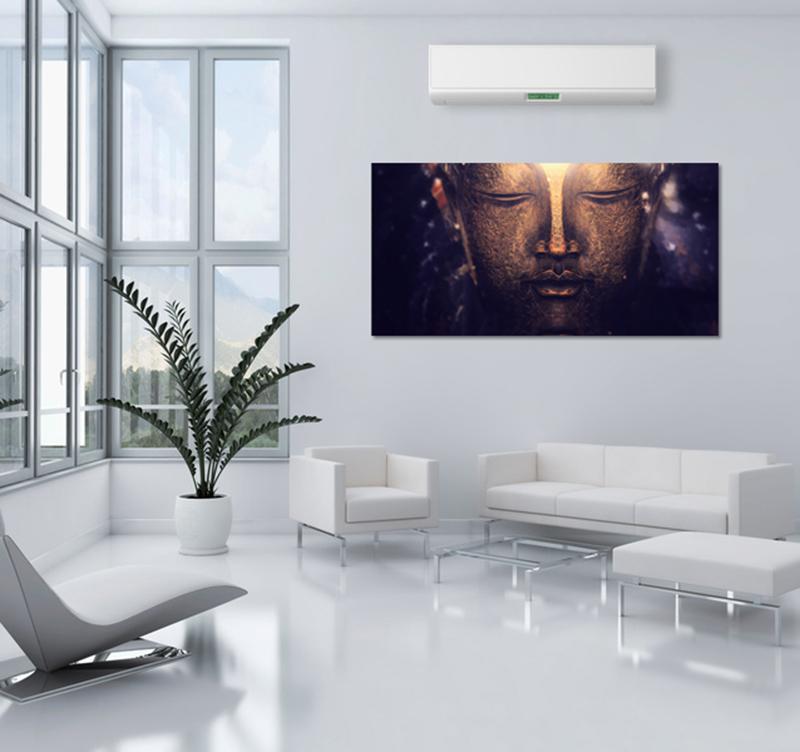 bouddha spirit zen art print artwall and co. Black Bedroom Furniture Sets. Home Design Ideas