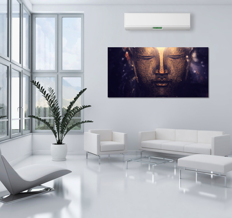 tableau deco buddha spirit. Black Bedroom Furniture Sets. Home Design Ideas