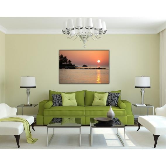 Sunset on the Sea art photograph