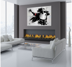 Moonwalk art print on canvas for a wall decoration of Michael Jackson