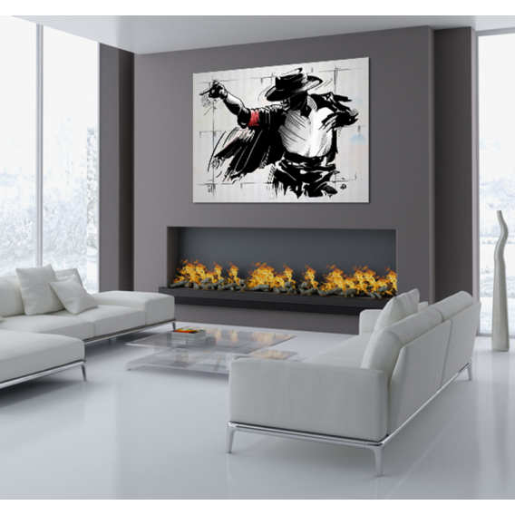 Moonwalk Modern Decorative Art Print