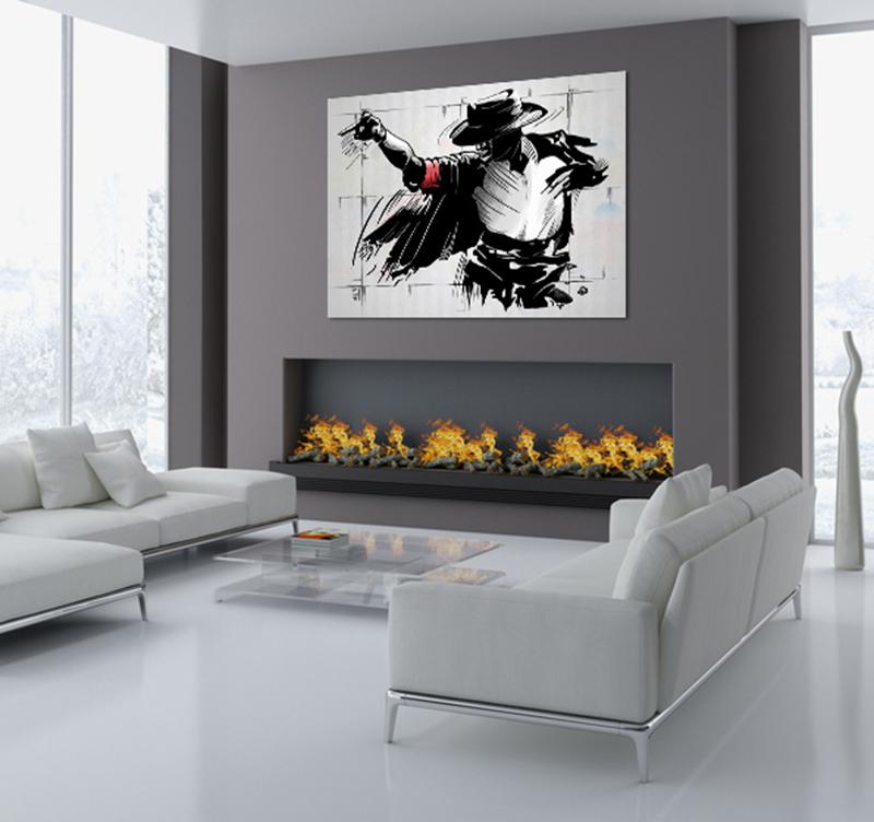 Moonwalk Modern Decorative Art Print Artwall And Co
