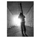 Skieur, de l'ombre à la Lumière Photo d'Art