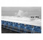 Chaises Bleues Promenade des Anglais