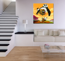 Kung Fu Panda Canvas for Kids