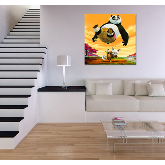 Kung Fu Panda Canvas for Kids