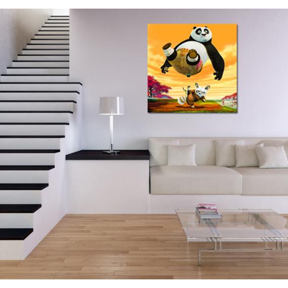 Kung Fu Panda Toile enfant