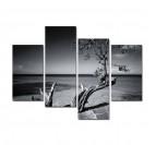Tableau Multiple Design L'arbre sur Mer
