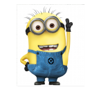 Minion jerry wall art print on white background color