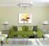 Tableau Design Cheval Multicolore