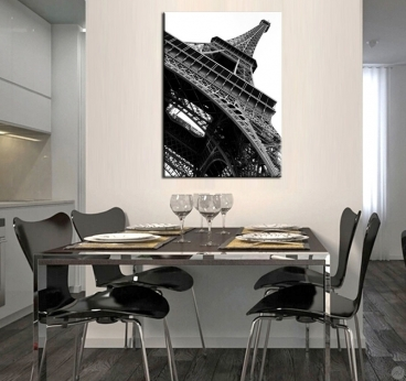 Tableau Art Moderne Grey Eiffel