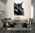 Grey Eiffel Modern art canvas