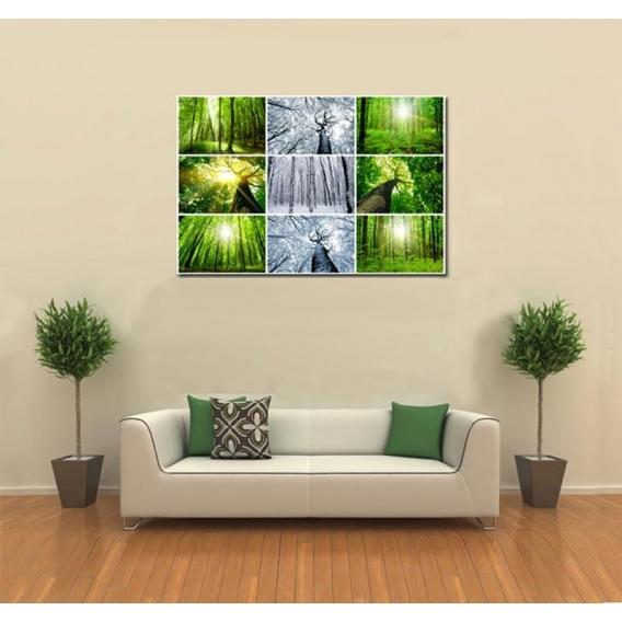 Millennium Tree modern zen art print