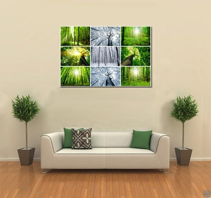 millennium tree modern zen art print - artwall and co