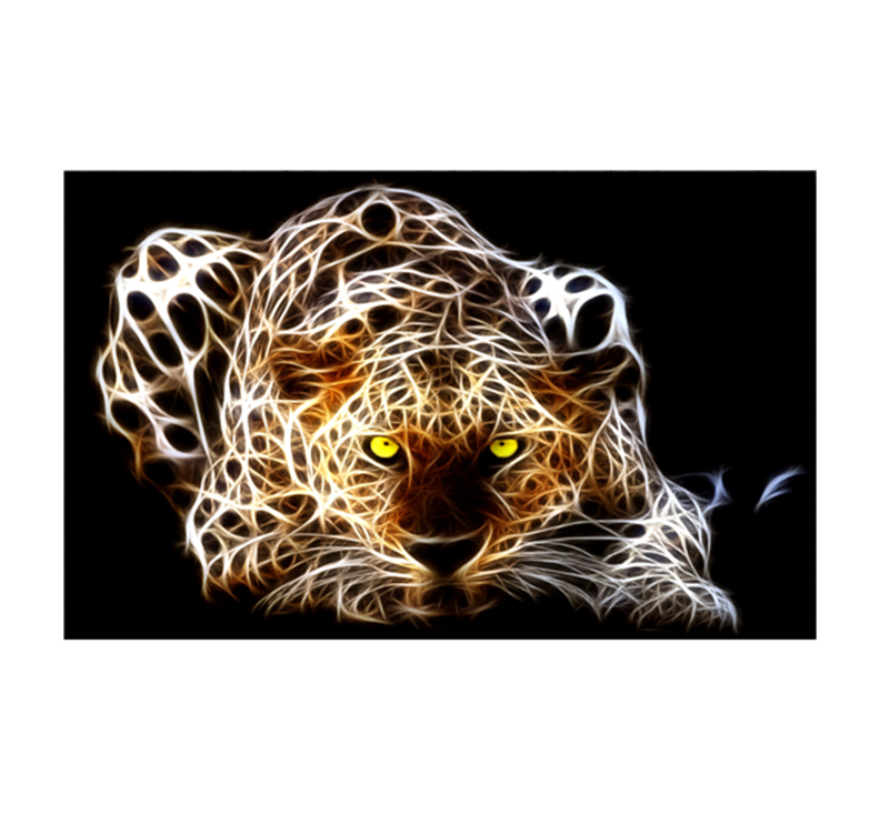 Tableaux Animaux Ghost Tiger