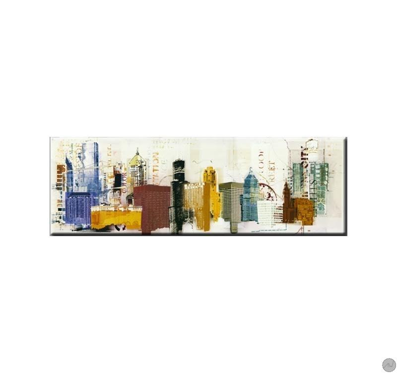 tableau moderne dessins building artwall and co. Black Bedroom Furniture Sets. Home Design Ideas
