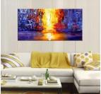 Lava River Modern Painting