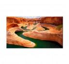 Tableau Paysage Lac du Grand Canyon