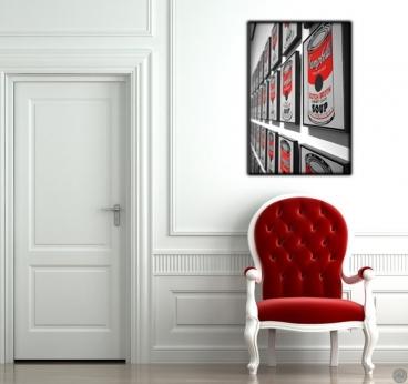 Tableau Photo Moderne Conserves au Mur