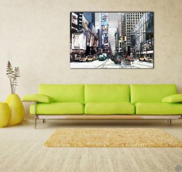 Photo d'Art Design New-York Pop Art