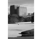 Tableau Photo Moderne Solitude de Tokyo