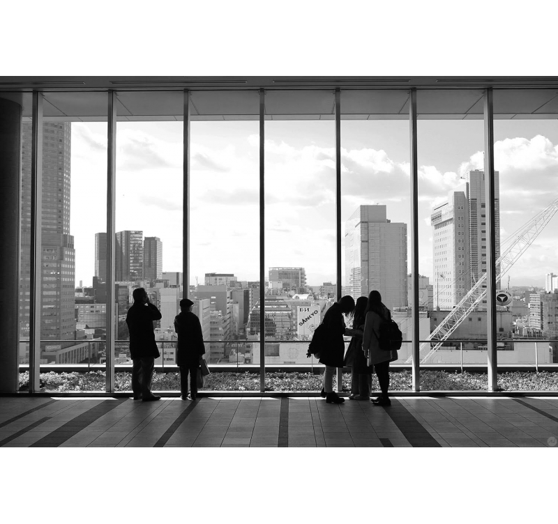 photographie contemporaine panorama de tokyo artwall and co