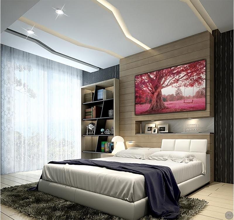 tableau decoratif balan oire rose artwall and co. Black Bedroom Furniture Sets. Home Design Ideas