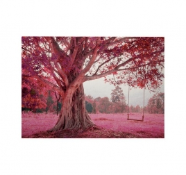 Tableau Decoratif Balancoire Rose