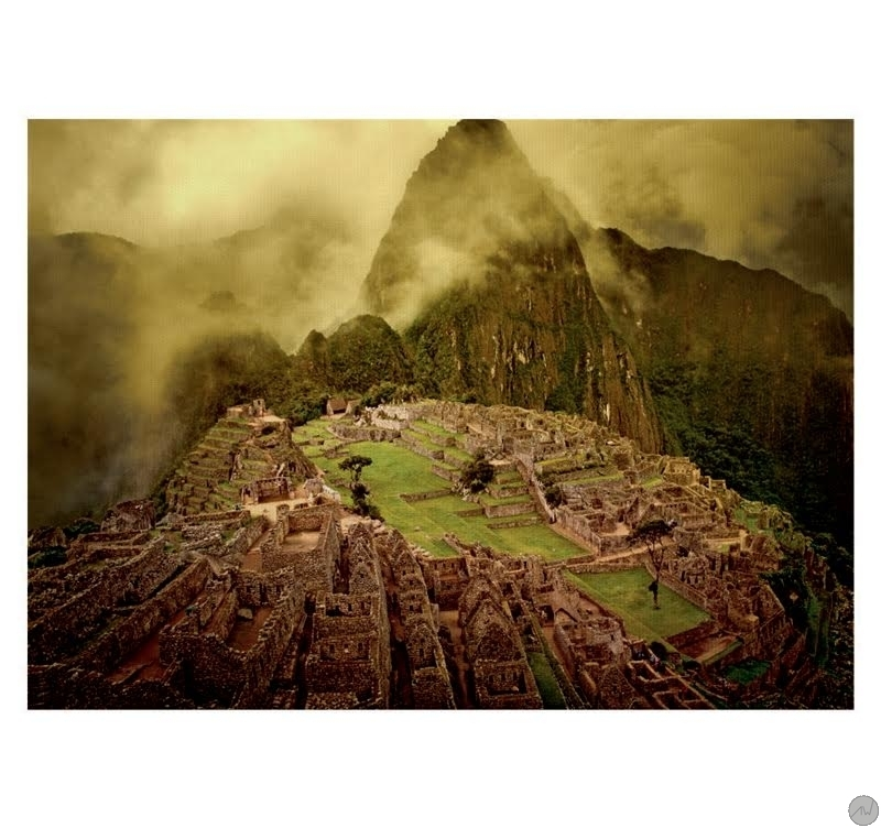 Tableau paysage design machu picchu artwall and co for Design paysage
