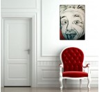 Tableau Design Dessin Albert Einstein