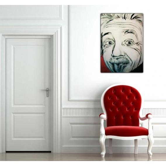 Albert Einstein Design Canvas
