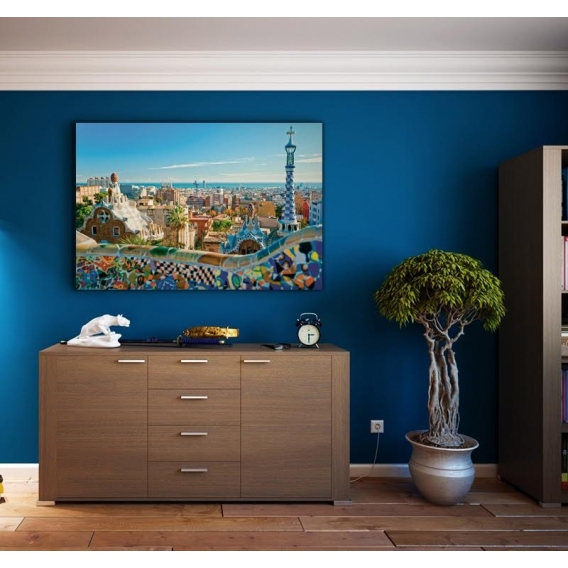 Barcelona Deco Photo Canvas