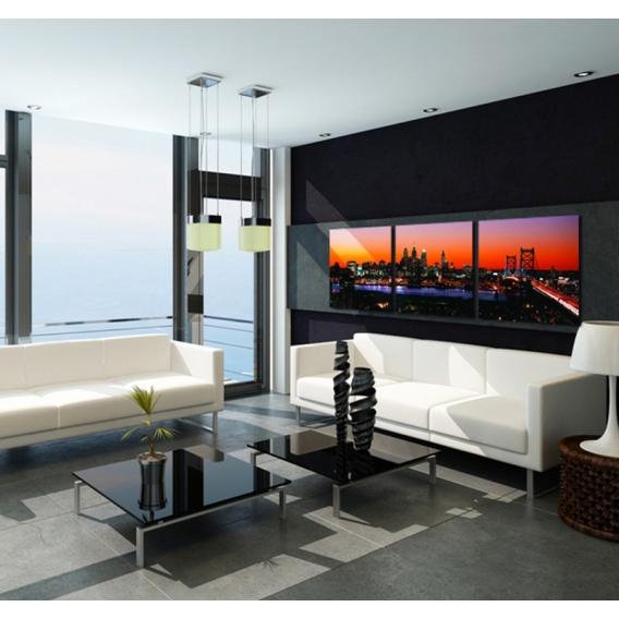 Triptyque design Manhattan Sunset