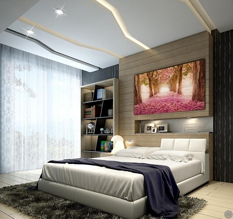 toile contemporaine champs de fleurs roses artwall and co. Black Bedroom Furniture Sets. Home Design Ideas