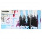 Toile Peinture Abstrait Dessin Coloré
