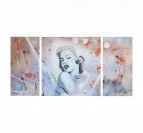 Grand Tableau Peinture Marilyn Monroe Pop Art