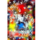 Peinture Pop Art Heisenberg vs Jack Bauer