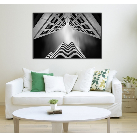 Aluminium Photo Canvas V