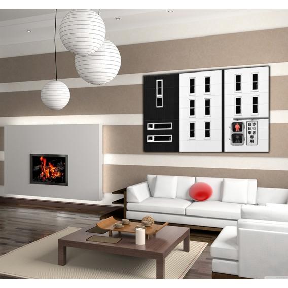 Tableau moderne d coration maison artwall and co for Decoration maison tableau