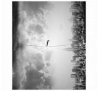 Equilibre entre ciel et ville