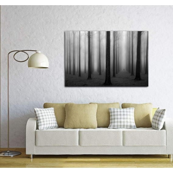 Ghostly Forest Design Canvas