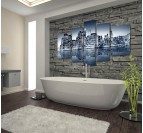New-York Skyline modern canvas print for a famous wall decoration