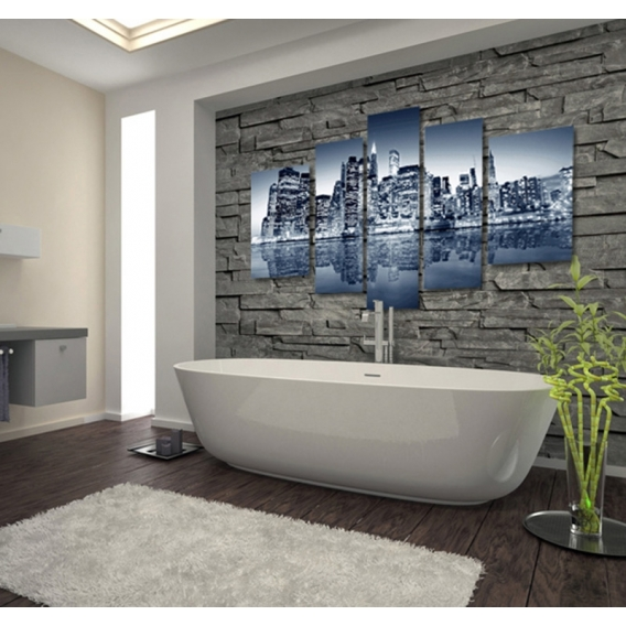 New-York Skyline Tableau deco